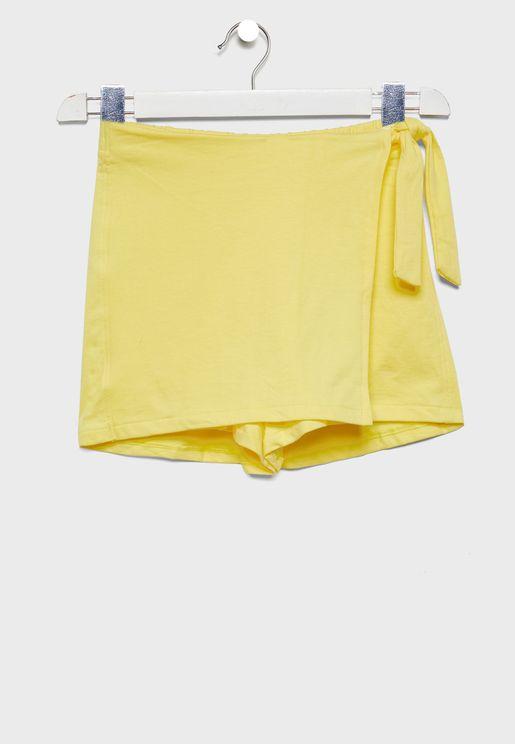 Kids Side Knot Skirt