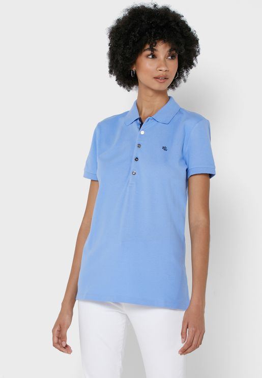 Kiewick Button Detail Polo