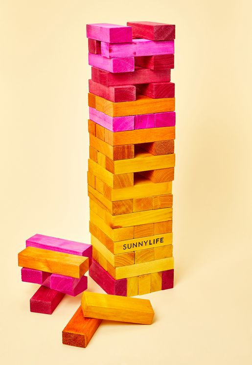 Giant Sunrise Jumbling Tower