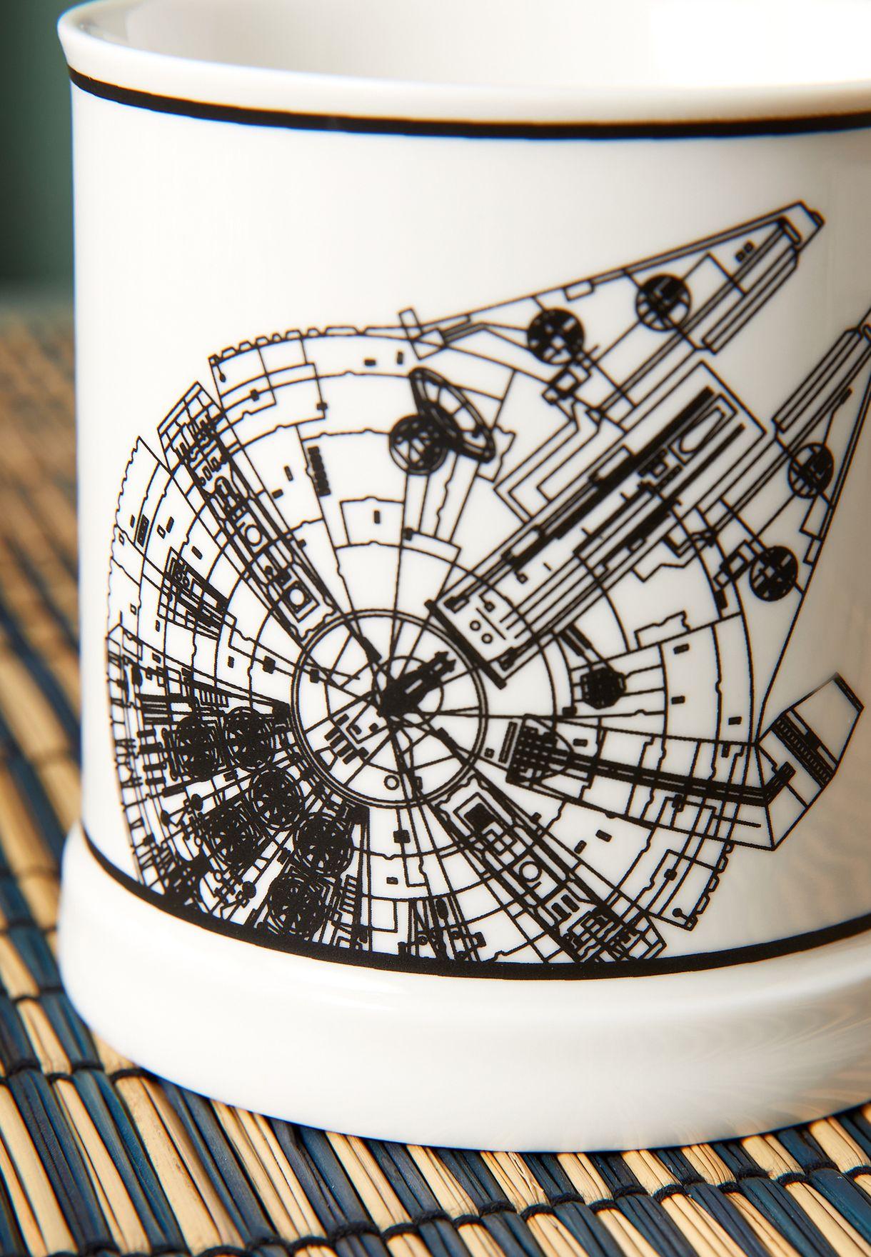 Star Wars Millenium Falcon Vintage Mug