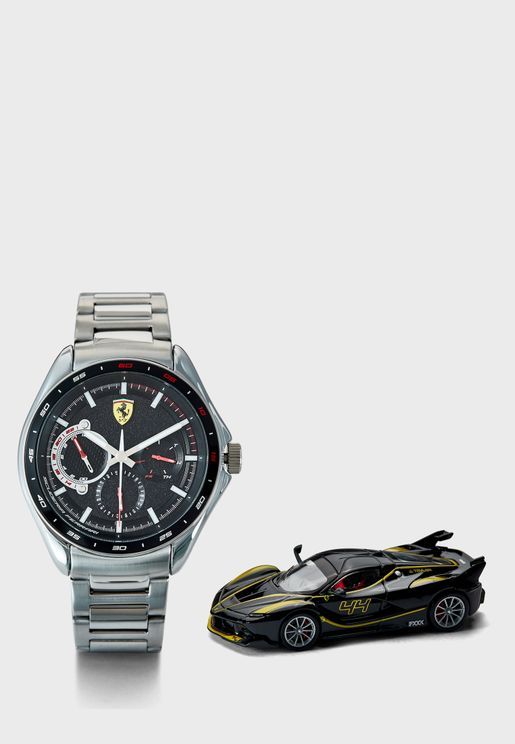 870037 Speedracer Watch & Car Gift Set