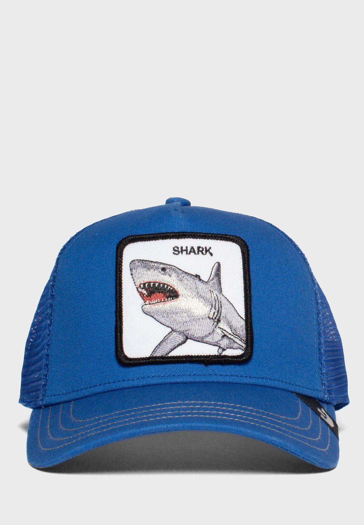 Shark Curved Peak Cap
