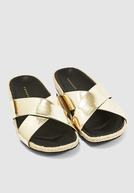 07202c730942 Rachel Footbed Sandal - Gold