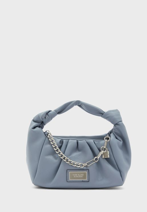 Double Knot Scrunch Bag