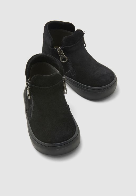 Kids Side Zip Boots