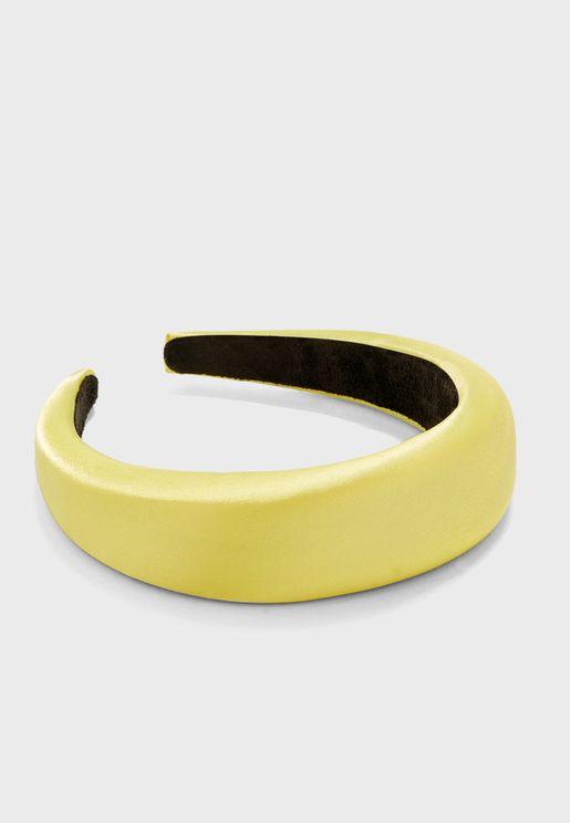 Padded Satin Headband