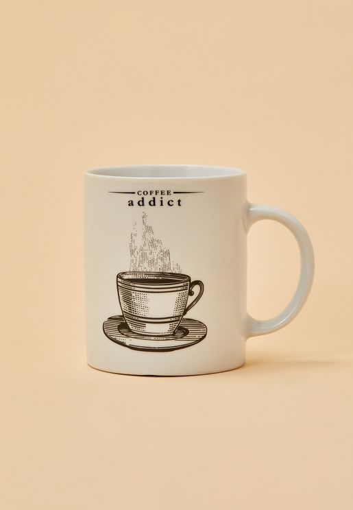 Victoriana Coffee Addict Mug