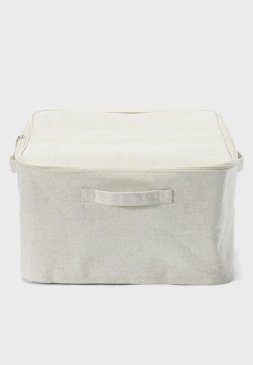 Cotton Linen Polyester Soft Box Large