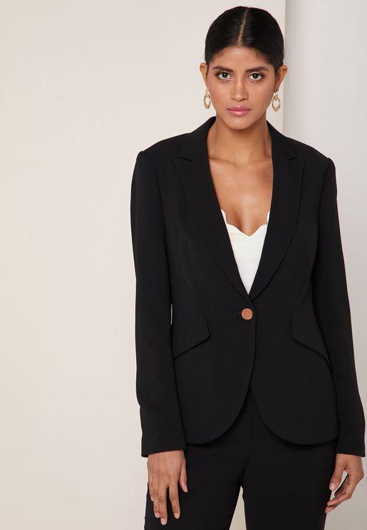 Angular Tailored Blazer