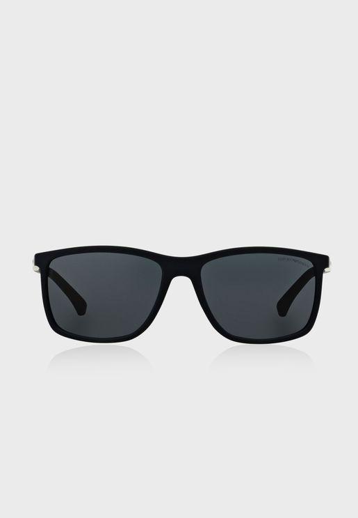 نظارة شمسية مربعة 0EA4058