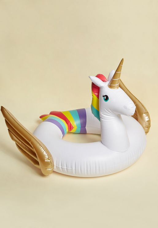 Unicorn Ring Kids Pool Floats