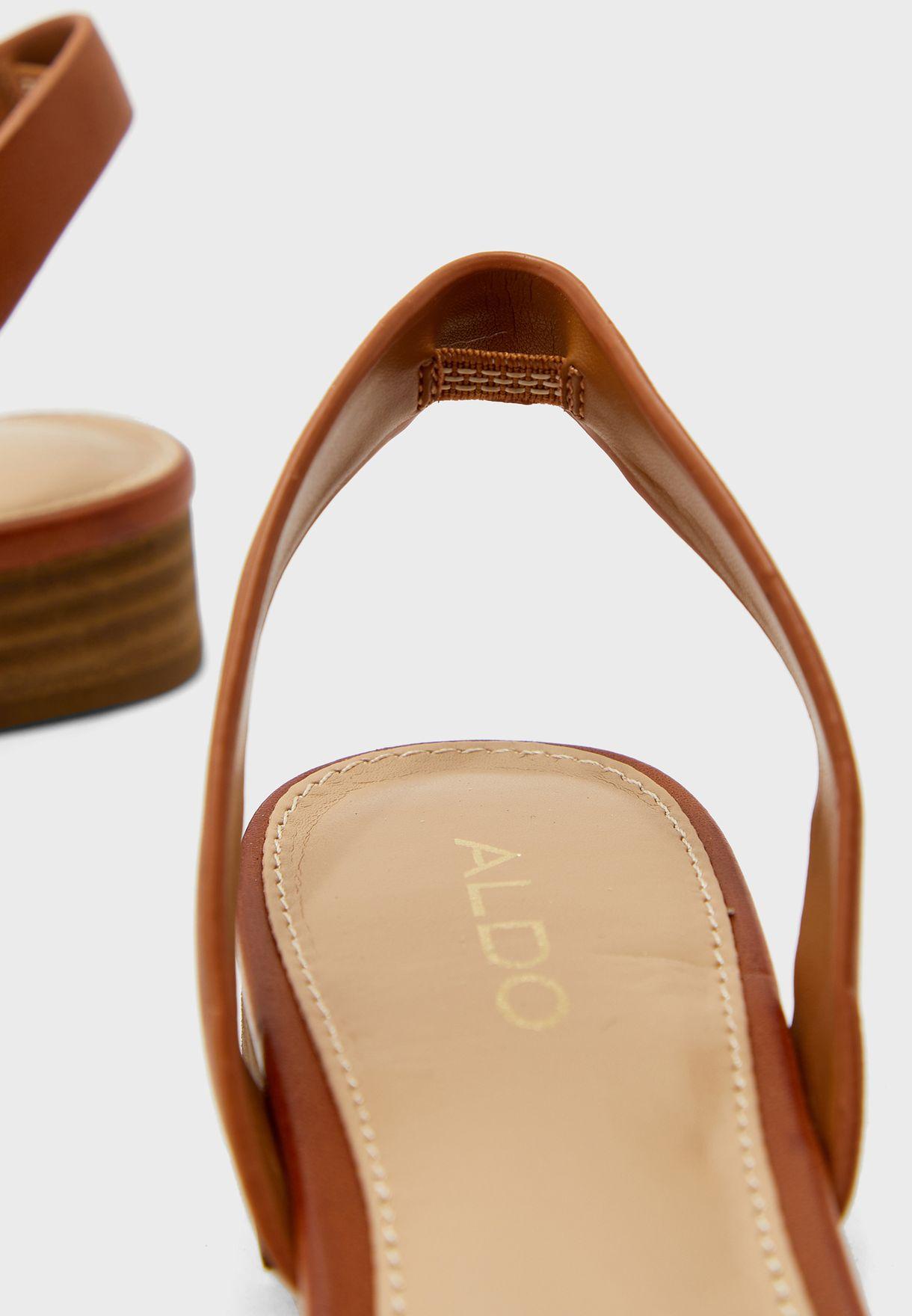 Candice Slingback Low Heel Sandal