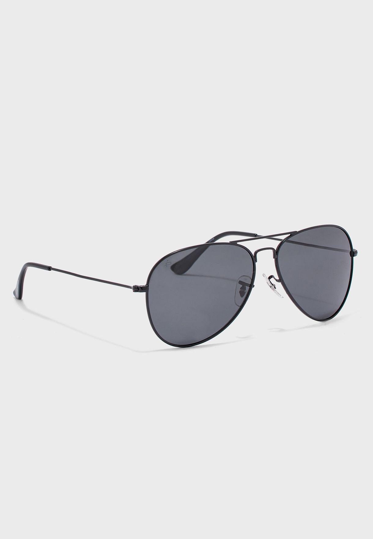 نظارة شمسية بنمط افياتور