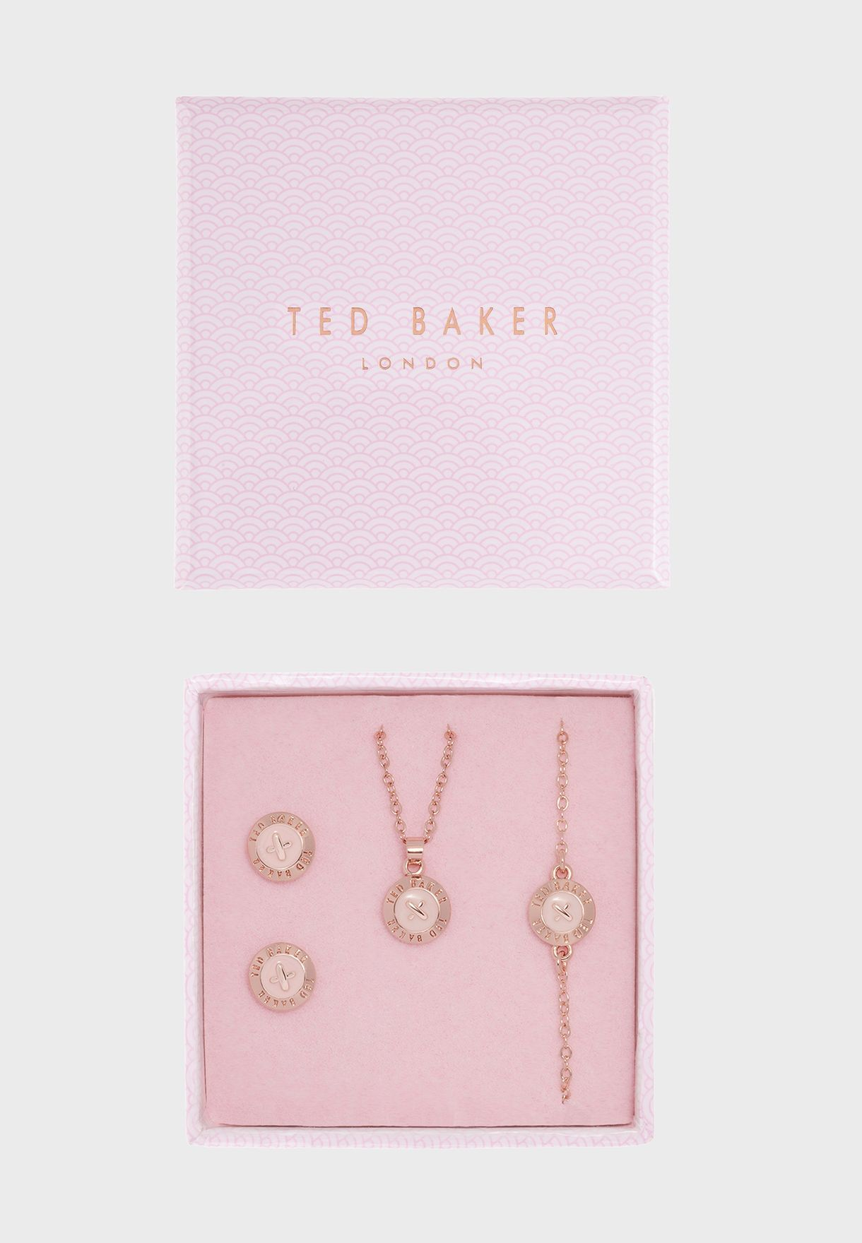 Pendant, earring and bracelet Black Friday exclusive