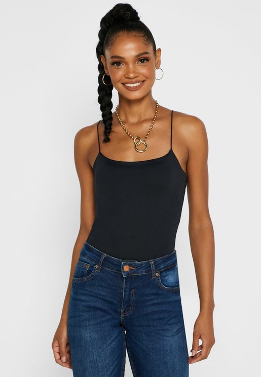Cropped Cami Body