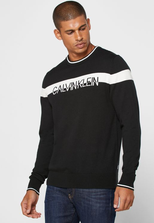 Split Logo Sweater