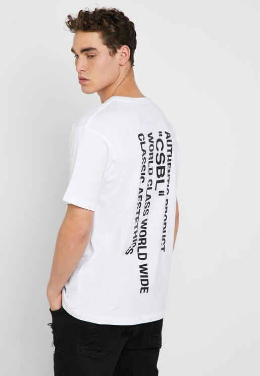 Quote Semi Box T-Shirt