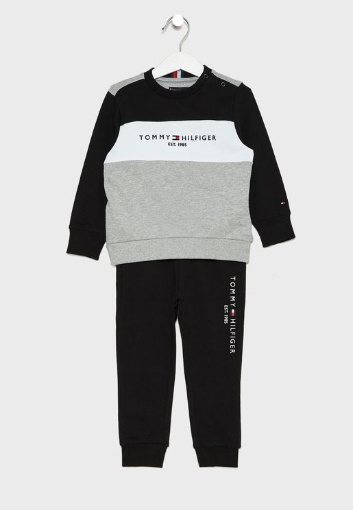 Kids Color Block Tracksuit