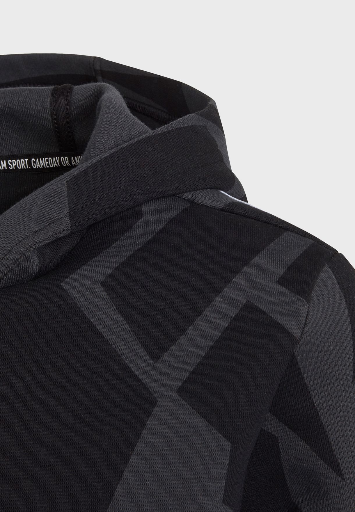 Youth Freelift 3 Stripe Graphic Hoodie