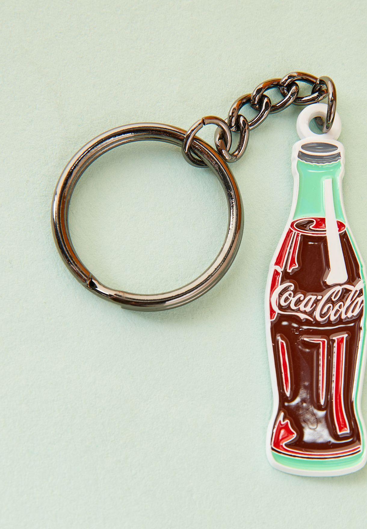 حلقة مفاتيح شكل كوكاكولا