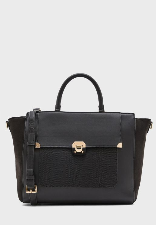 Front Button Satchel