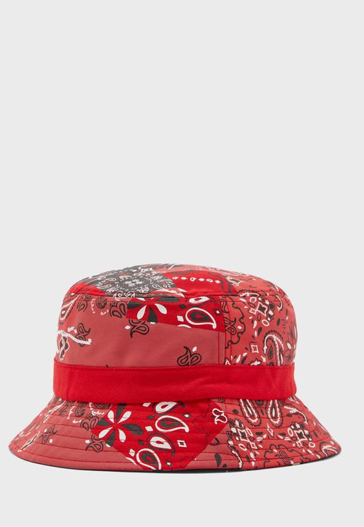 Signature Satin Bucket Hat