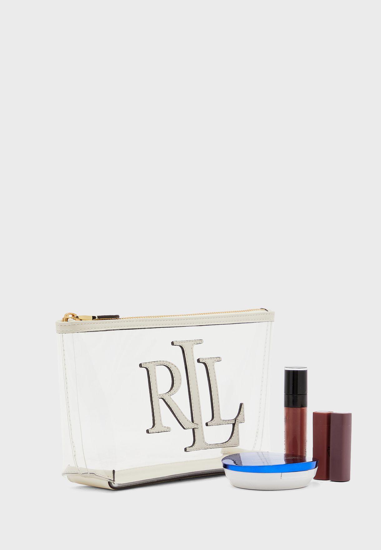 Top Zip Cosmetic Bag