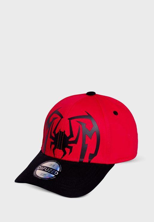 Spider Man Curved Peak Cap