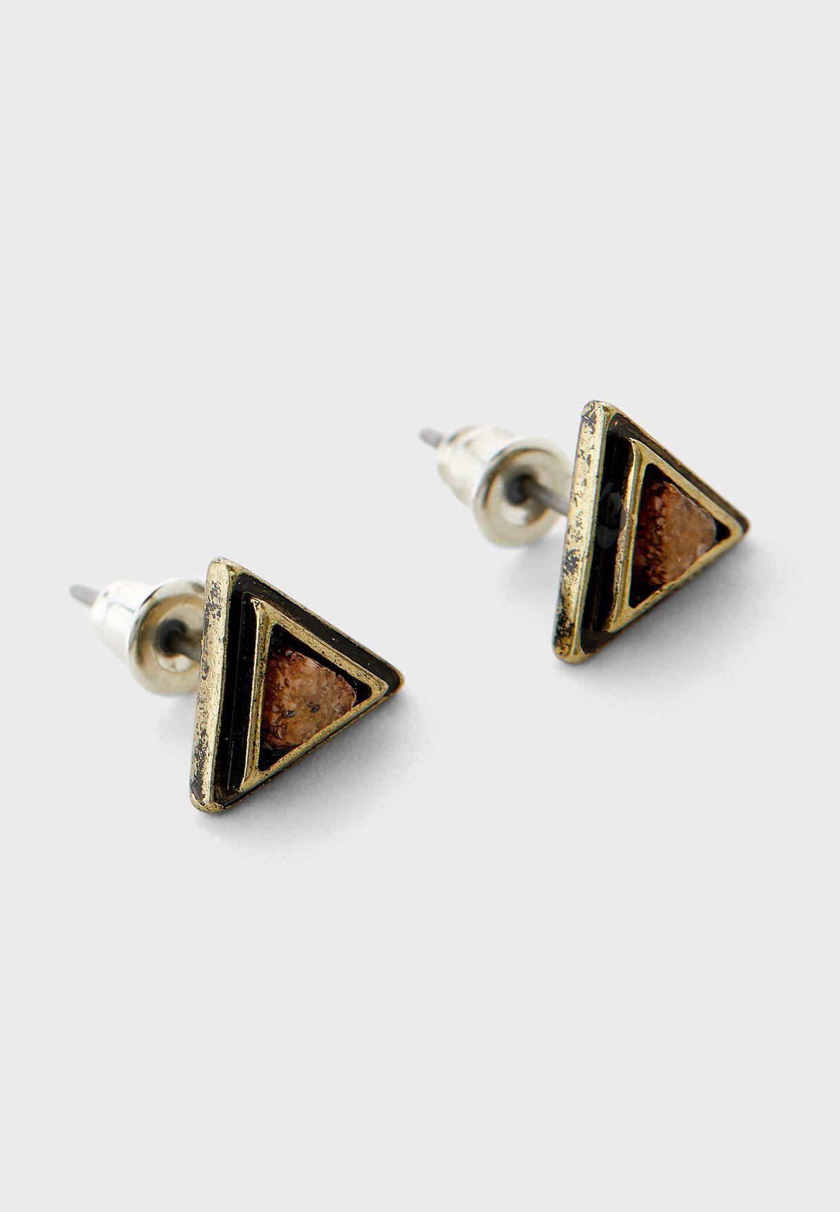 Triangulation Studs Earring