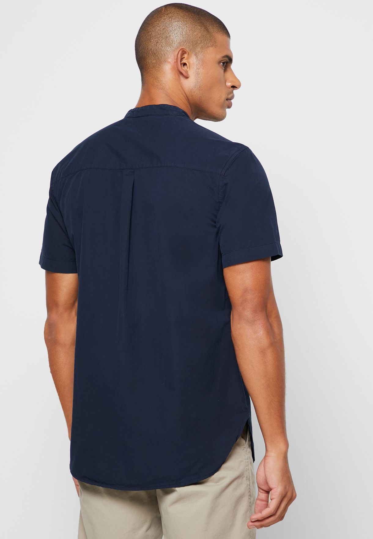 قميص طويل بجيوب
