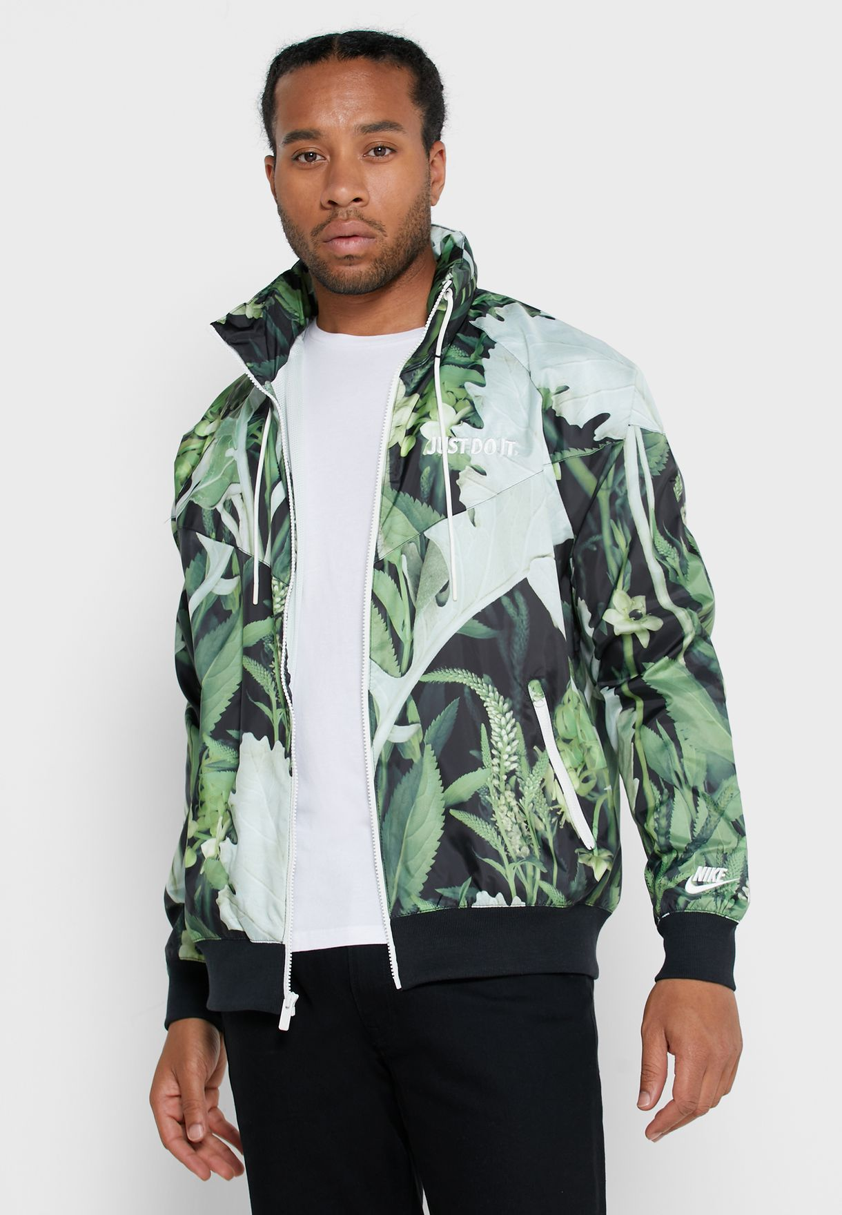 NSW Just Do It Floral Windrunner Jacket