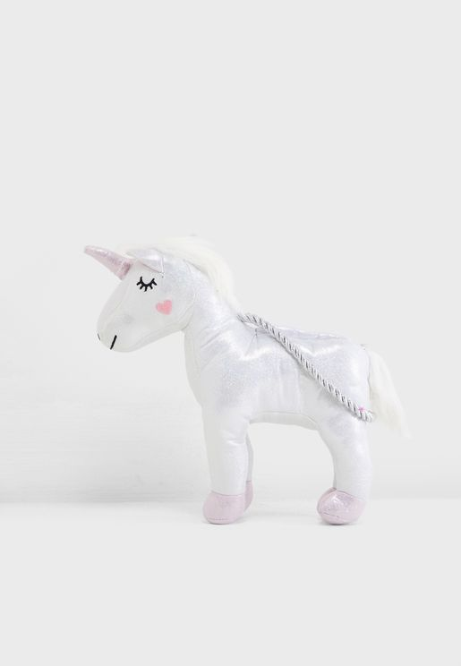 Kids Unicorn Plush Bag