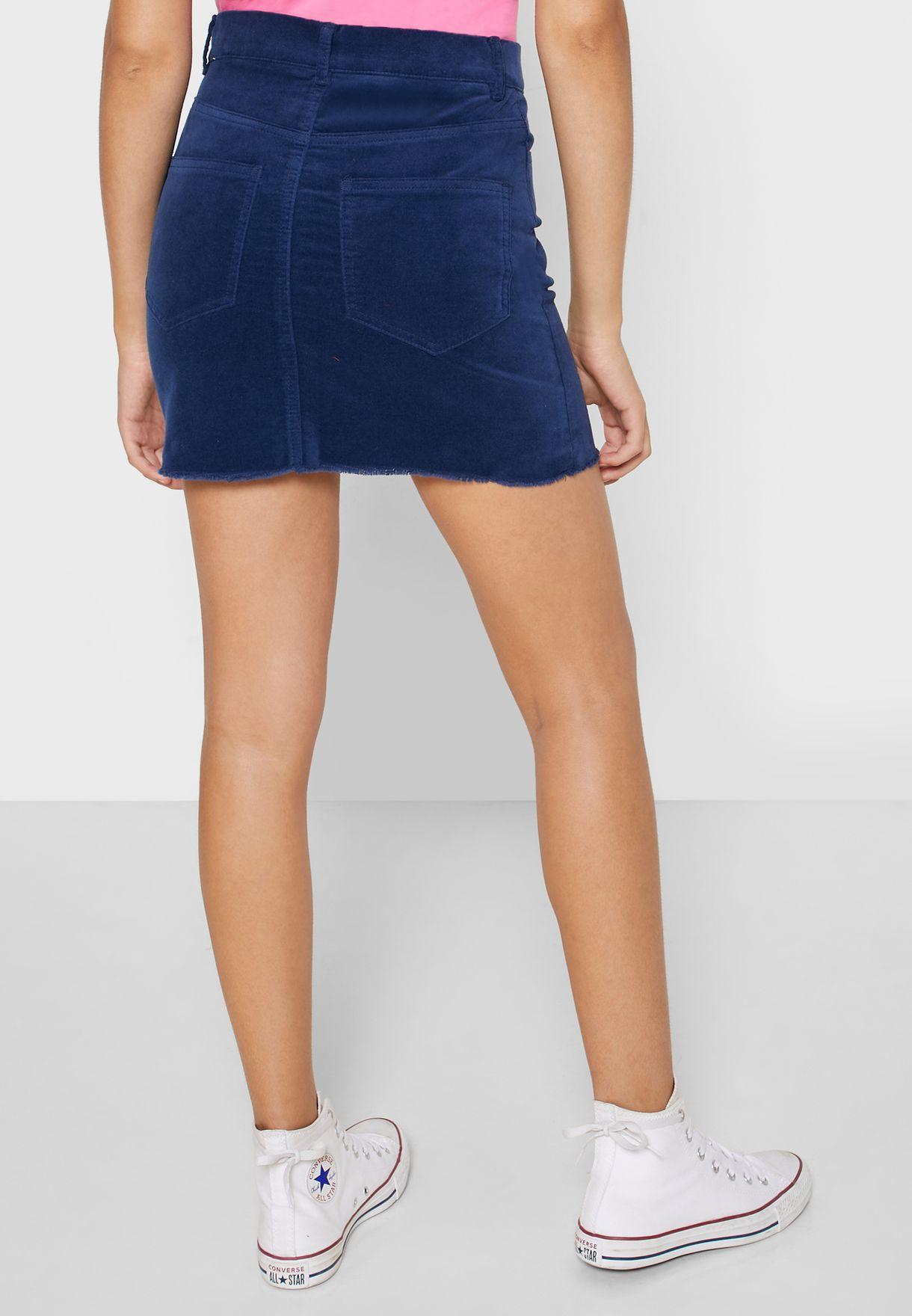 Seam Detail Mini Skirt