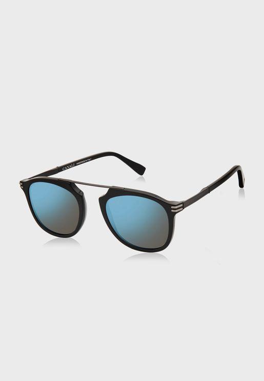 L CO21401 Round Sunglasses