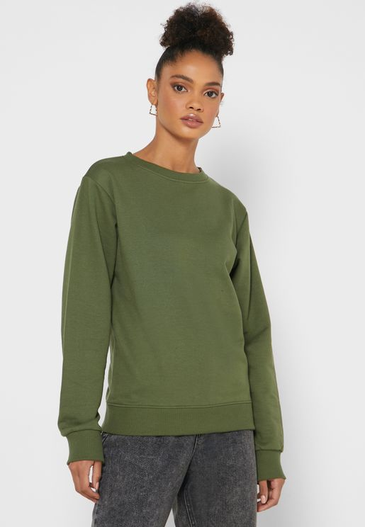 Essential Crew Neck Sweatshirt