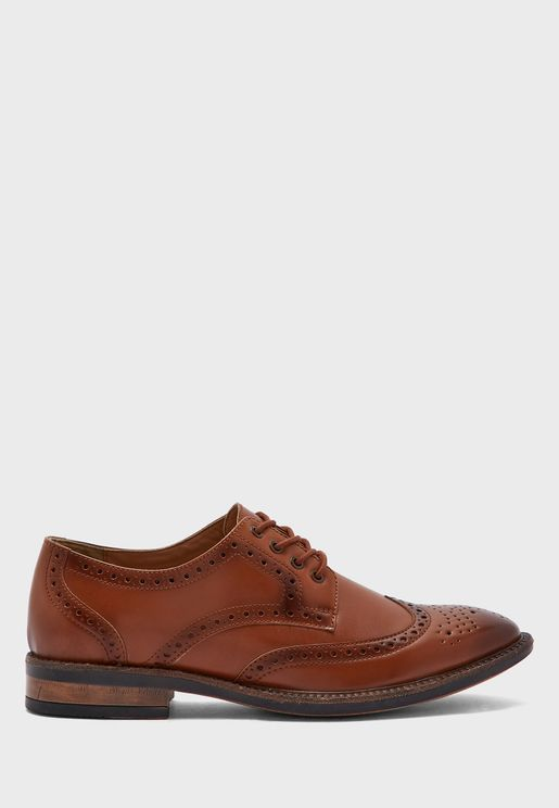Wing Cap Formal Lace Ups