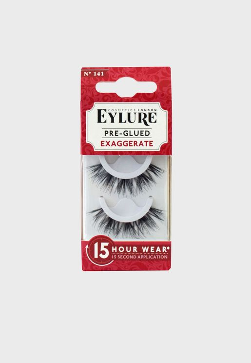 Pre-Glued Lashes -Exaggerate 141