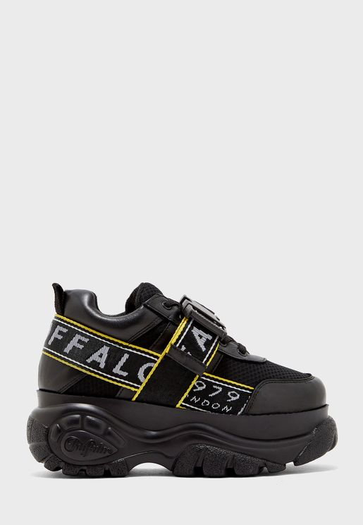 Galip Platform Chunky Leather Sneaker