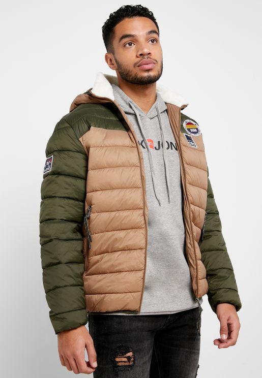 Josh Color Block Jacket
