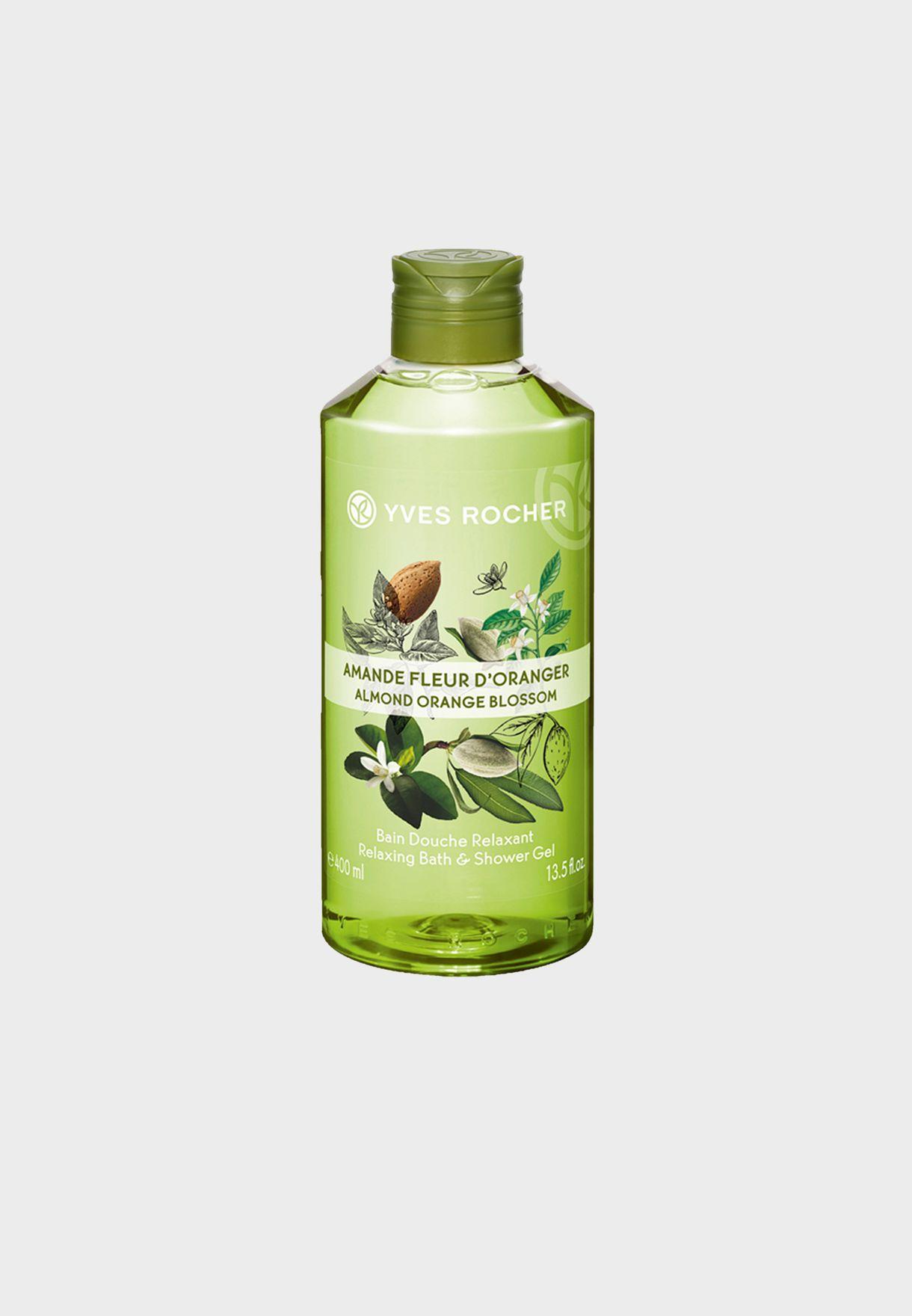 Relax Bath-Shower Gel Almond Orange  400Ml