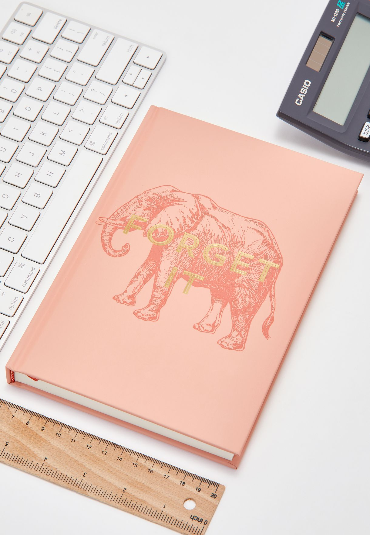 Forget It Elephant A5 Notebook
