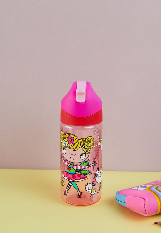 Mary The Fairy Drinks Bottle With Straw