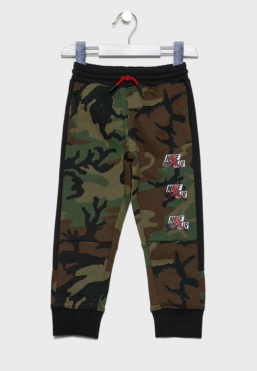 Kids Jordan Jumpman Classics Camo Sweatpants