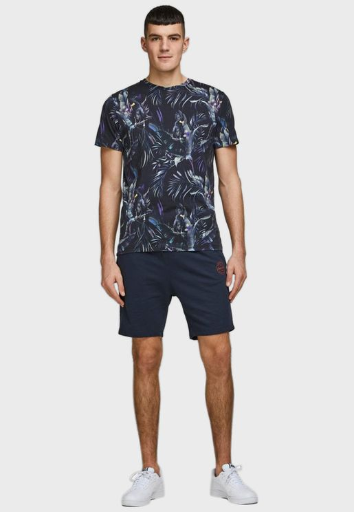 Shark Drawstring Shorts