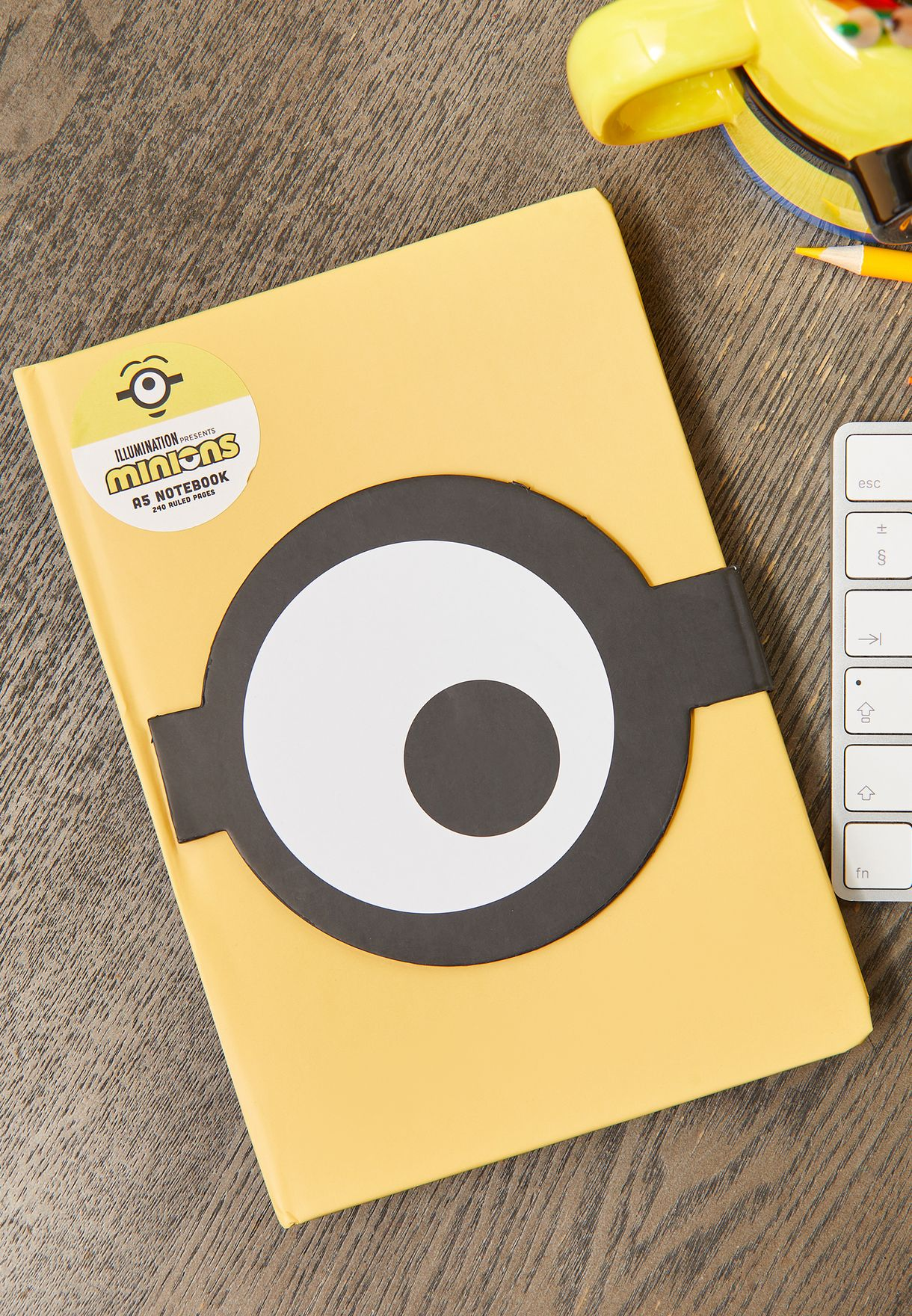 Minions A5 Whaaa? Notebook