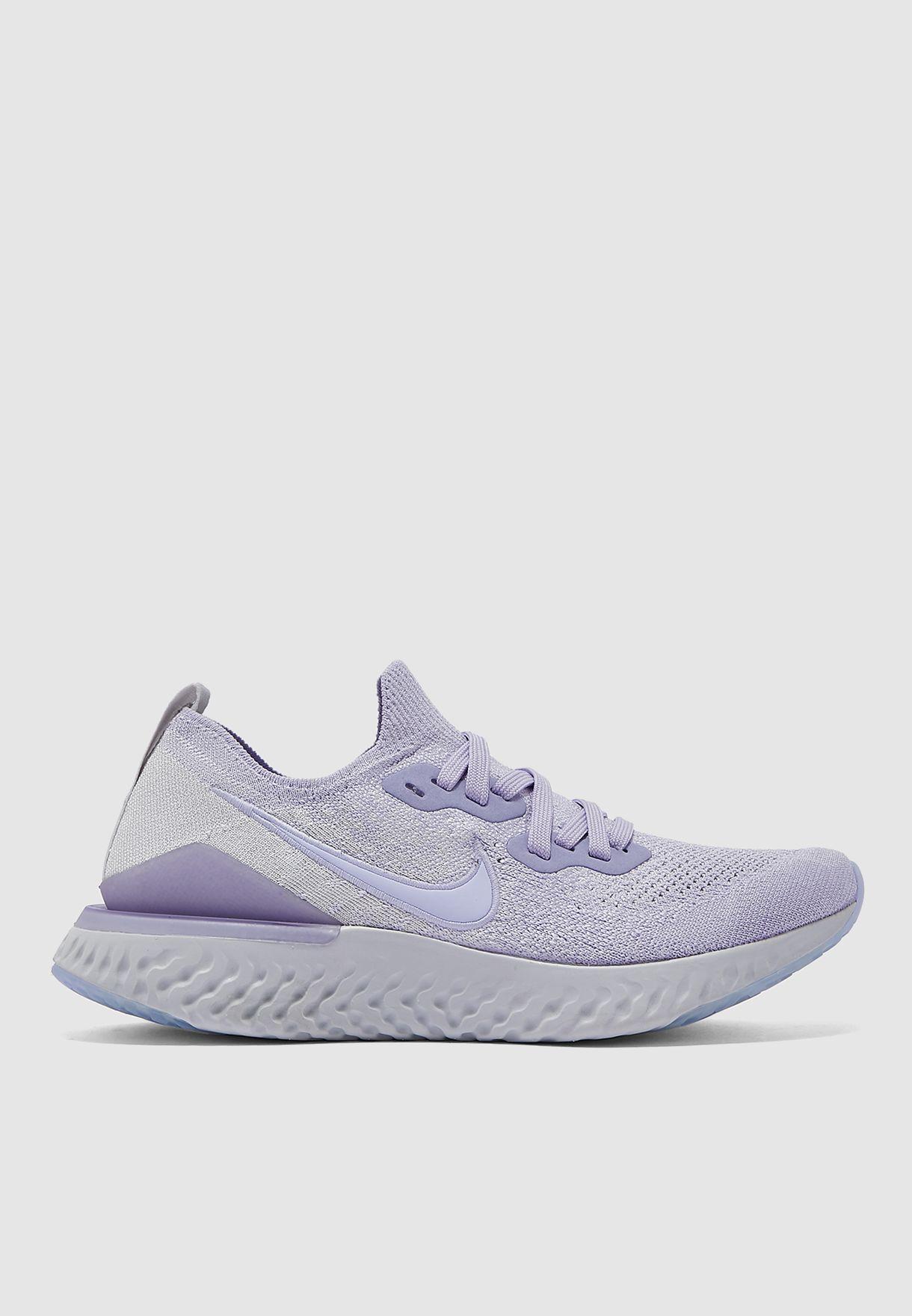 Buy Nike purple Epic React Flyknit 2
