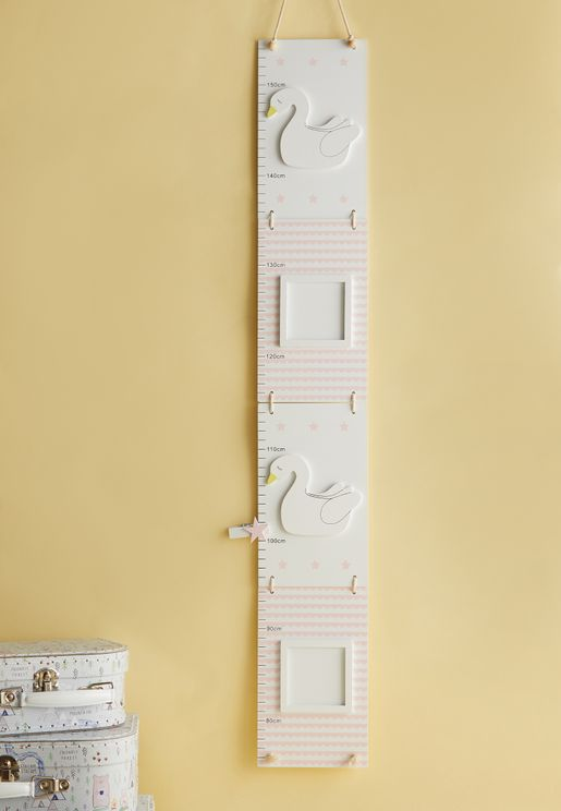 Swan Printed Growth Chart