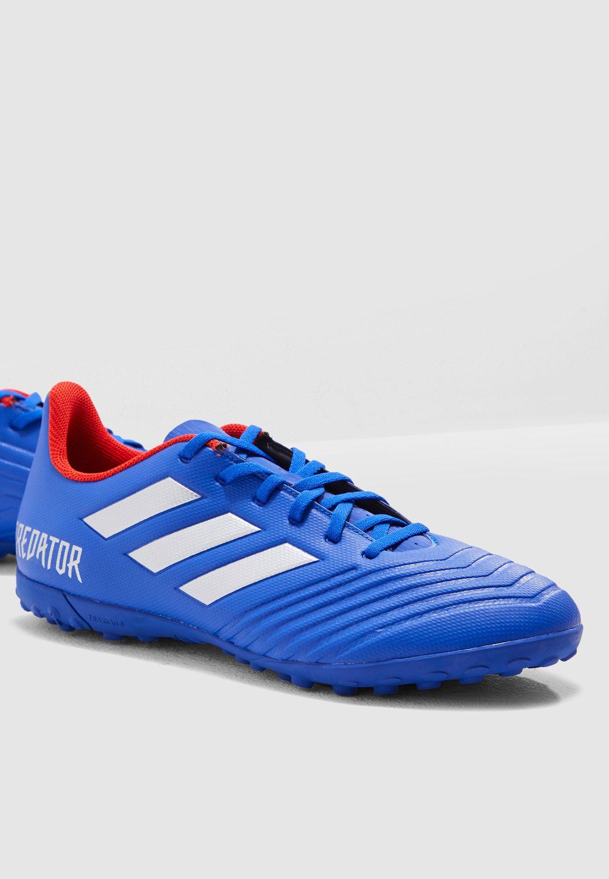 3e0c1b5d853 Shop adidas blue Predator 19.4 TF BB9085 for Men in UAE - 14448SH72CAP