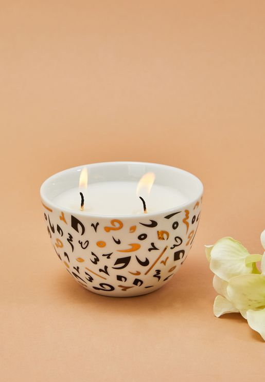 Lavender-Scented Unity Candle in a Gift box