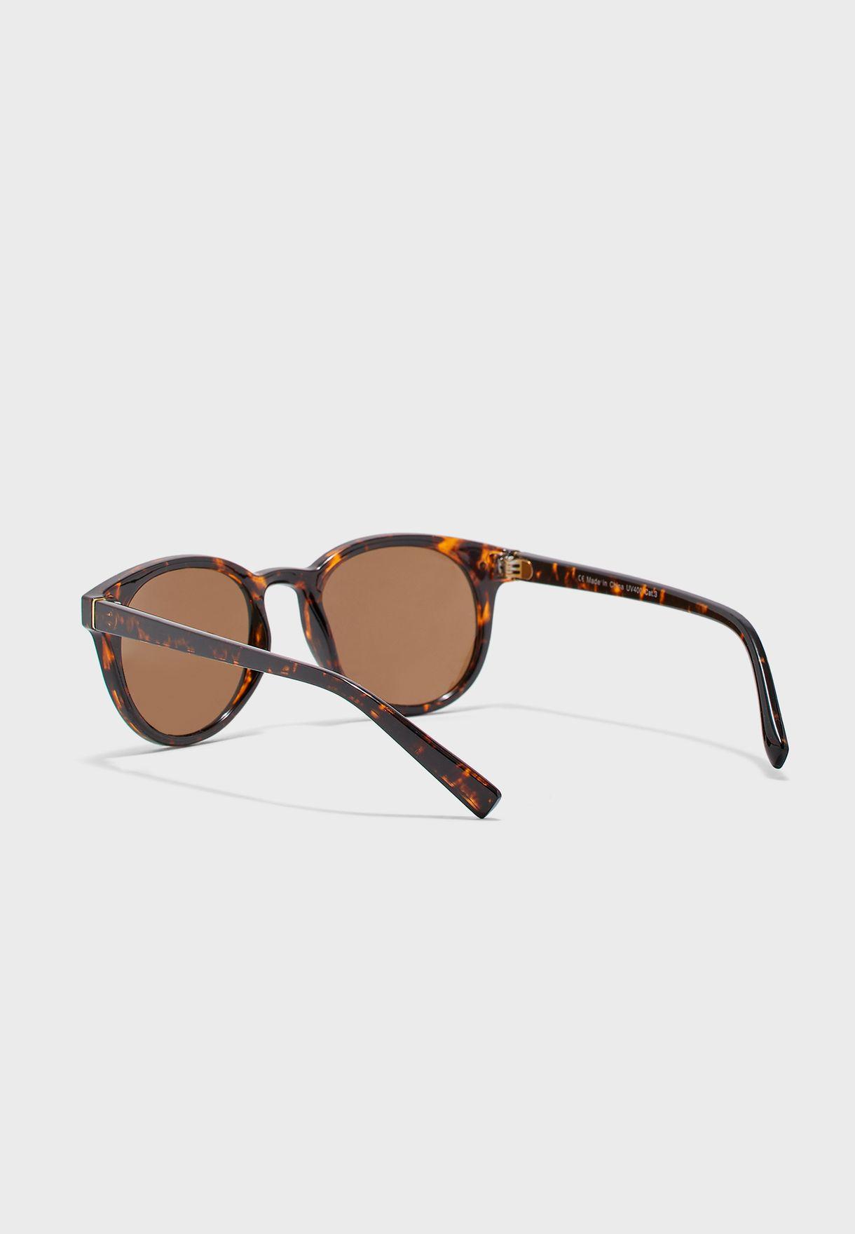 Okulary Round Sunglasses